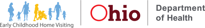 Ohio Department of Health Early Childhood Home Visiting logo